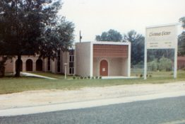 The original church completed - 1962